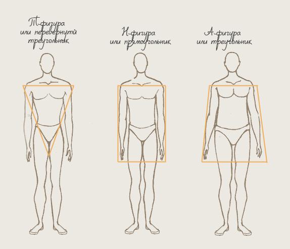 типы телосложения у мужчин фото