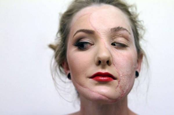 Создание эффекта разложившейся кожи