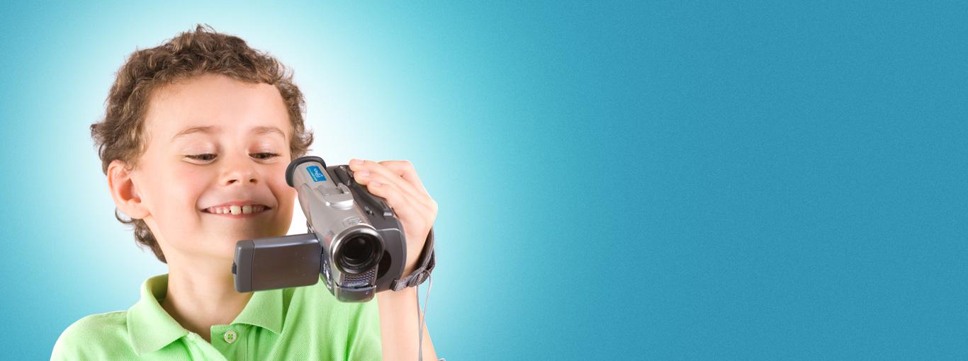 Курсы видеосъёмки для детей.