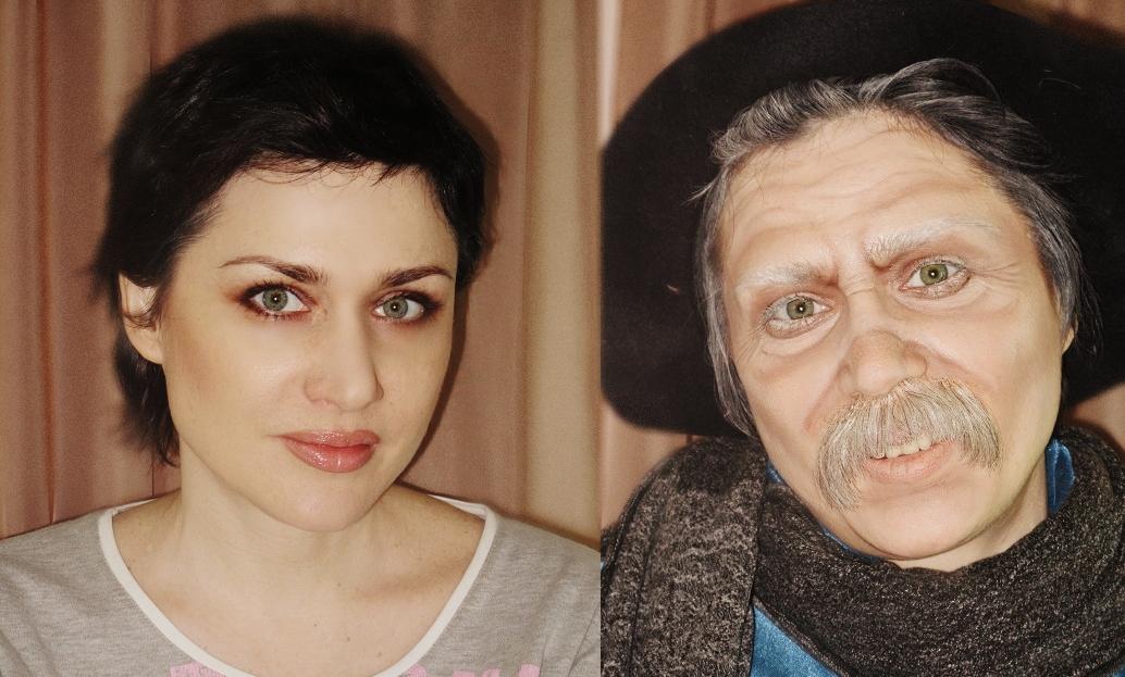 Как сделать макияж бабы яги своими руками