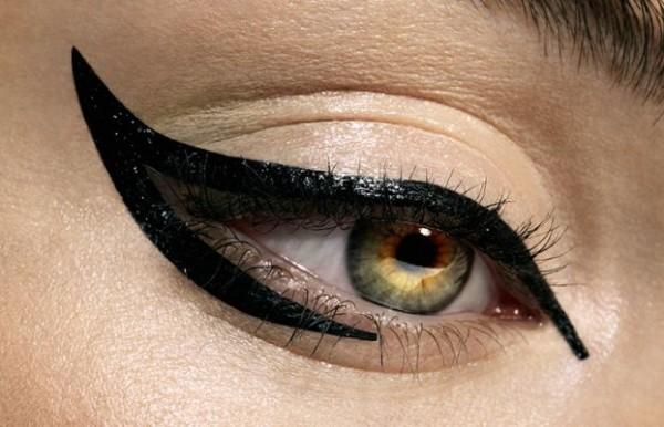 Ретро макияж глаз