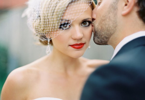 Свадебный макияж в стиле ретро