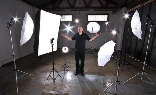 Студийная съемка, освещение. Схемы света для студийной съемки.