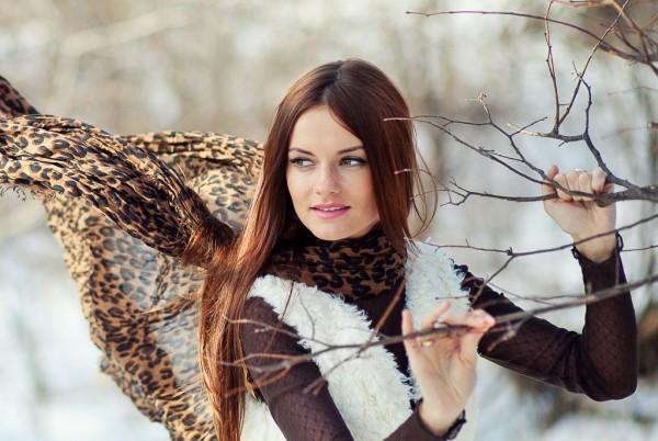 Макияж для зимней фотосессииэ