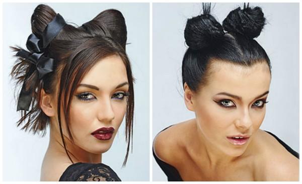 Грим женщины-кошки